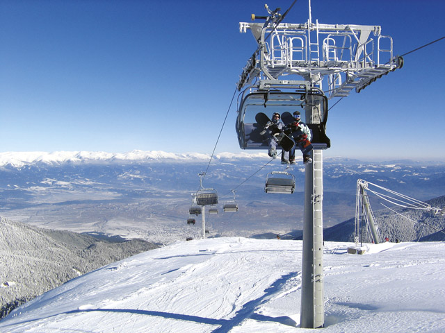 Ski Sports in Bansko, Bulgaria